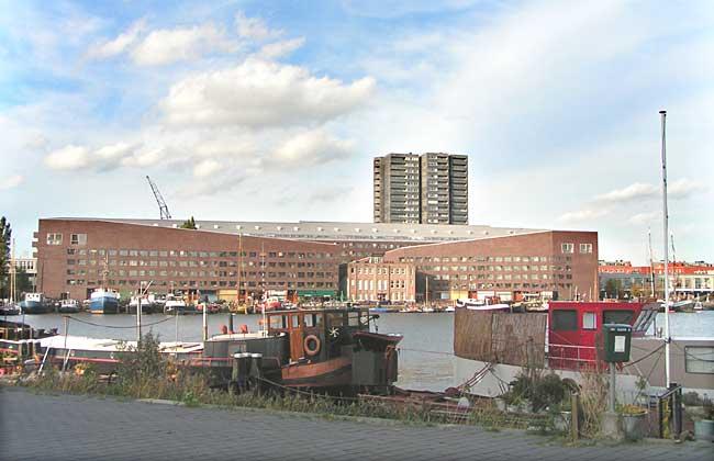 City building statendam 2 de architecten - Expressionistische architectuur ...